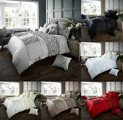 Verina Luxury Frills Duvet Cover Sets Quilt Cover Sets Bedding Sets All Sizes