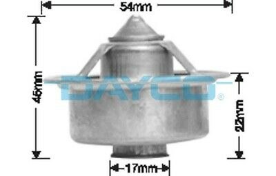 Thermostat for Ford Fairmont 351ci Sep 1978 to Mar 1979 DT66A