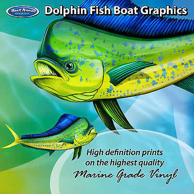 Bone Fish Graphics set of 600mm Boat Graphics