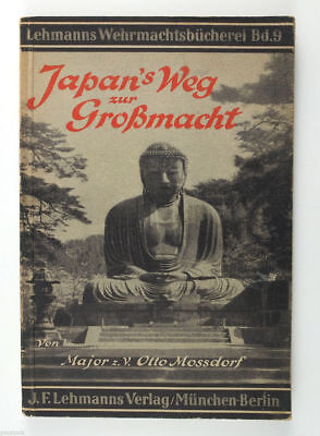 1943 Germany JAPAN'S Way to Great Power Vintage Book about Japanese Army
