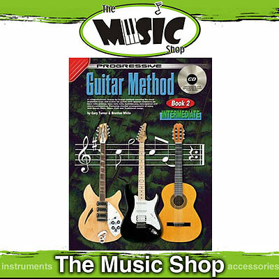 Progressive Guitar Method Book 2 Lesson Book with CD!