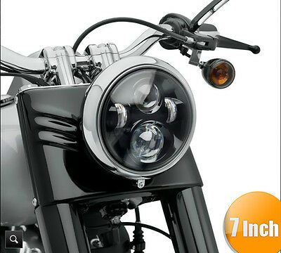 """7"""" Motorcycle LED Daymaker Projector Headlight Light for Harley Davidson Touring"""