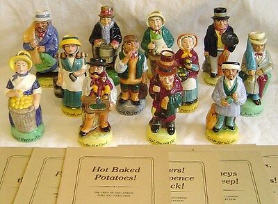 Franklin Mint THE CRIES OF OLD LONDON Toby Jug Collection (Your Choice)