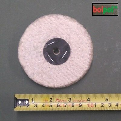 SISAL Coarse Buffing Wheel 100mm x 1 Section - Polishing Mop for Metal  - S100/1