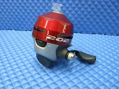 Zebco 202 Spincast Reel Red Pre-Spooled with 10lb Mono