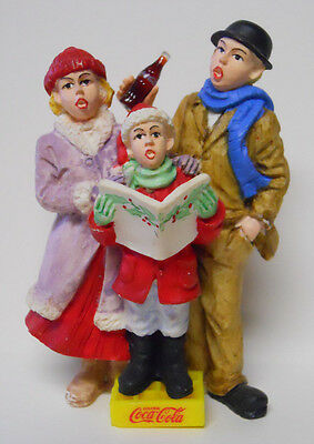 VINTAGE! 1994 Coca-Cola Town Square Collection Carolers #64327