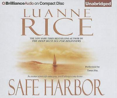 SAFE HARBOR unabridged audio book on CD by LUANNE RICE