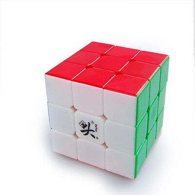 Dayan II Guhong Plus V2 3x3 Speed Cube Magic Puzzle 6 Color Stickerless Kids Toy