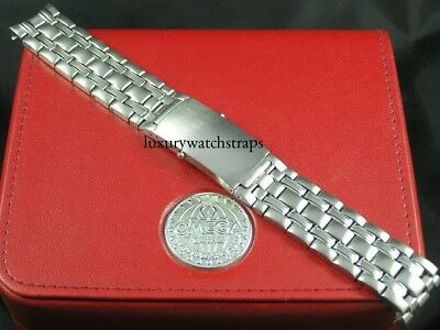 STAINLESS STEEL BRACELET STRAP FOR OMEGA SEAMASTER 20mm WATCH SOLID LINKS - NEW