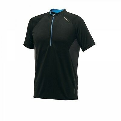 Dare 2b Mens Retaliate Lightweight Sports Cycling Jogging T-shirt Jersey Black