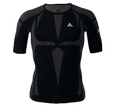 Dare2b Zonal Womens Wicking Thermal Short Sleeve Base Layer Top Black XL/XXL