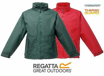 Regatta Hudson Mens Waterproof Windproof Hooded Lined Padded Insulated Jacket