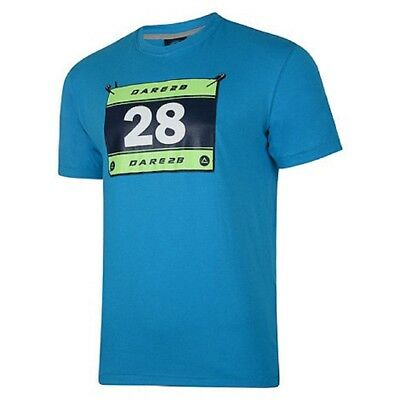 Dare2b Race Runner Mens Wicking Sports Excersize Base Layer Tee T-Shirt Blue