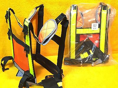 ***New*** Rps Manufacturing Solutions 106207 Open Safety Vest Reflective & More