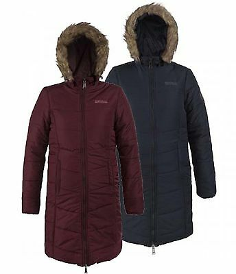 Regatta Fearne Womens Hooded Water Repellent Insulated Parka Jacket