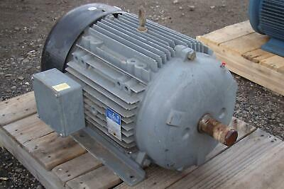 BROOK CROMPTON INC MOTOR 3 PHASE 25 HP 230/460v