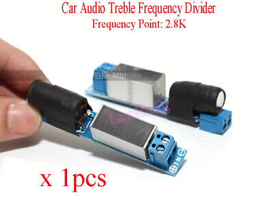 Independent Car Audio Tweeter Treble Frequency Divider Crossover Filters 2.8KHz
