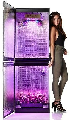 Growzilla 3.0 Hydroponic Garden Concealed Stealth Grow Box 9 Plants Herbs