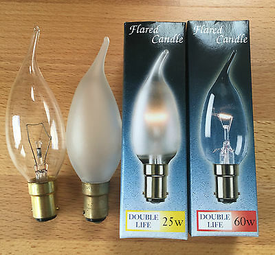 60W SBC DOUBLE LIFE FROSTED CANDLE 45MM
