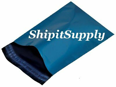 1-1000 10x13 ( Blue ) Color Poly Mailers Shipping Boutique Bags Fast Shipping