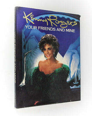 300623eb Kenny Rogers 'Your Friends and Mine: A Collection of 80 Photographs' 1987