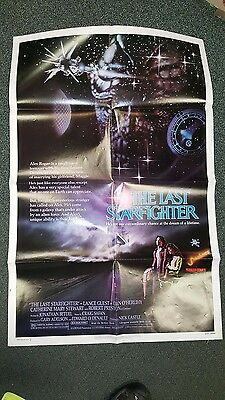 The Last Starfighter Original Theatrical Movie One Sheet Poster 1983