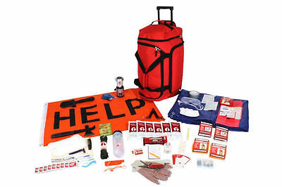 Guardian Skto-Tornado Emergency Kit Shelter Tools First Aid Communication Food