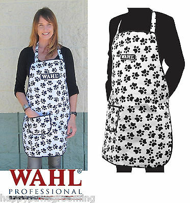 WAHL Pro PET Grooming WATERPROOF Hair/Stain Repellant PAW PRINT COMFORT APRON