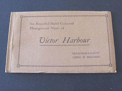Six Victor Harbour South Australia Postcards in Booklet