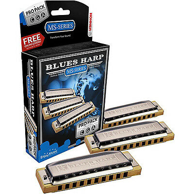 Armónica Hohner Blues Harp 532/20 PRO PACK