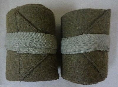 Ww1 British Army Wool Wraps / Putty / Putties - Replica