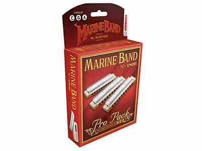 Armónica Hohner Marine Band Classic 1896/20 Pro Pack