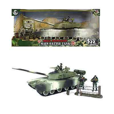World Peacekeepers Military Main Battle Tank Army Toy with figures 3+ Years