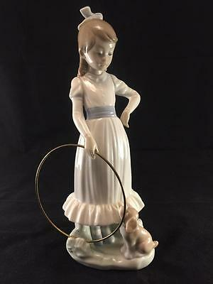 "Beautiful Vintage NAO by Lladro ""My Dog Does Tricks""  Porcelain Figurine"