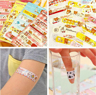 40PCS Variety Patterns BAND-AID Bandages Cute Cartoon Band Aid For Kids Children