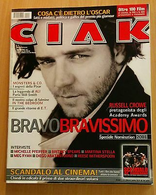 Ciak Marzo 2002 Russell Crowe Will Smith