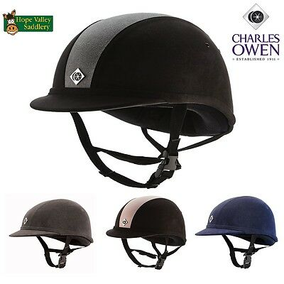 Charles Owen YR8 Riding Hat. Two Colours Available.