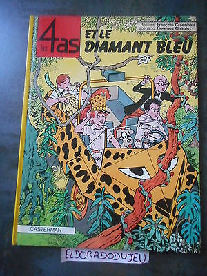Eldoradodujeu > Bd - Les 4 As Et Le Diamant Bleu - Casterman 1983 Be