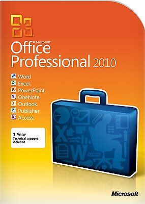 Microsoft Office Pro Plus 2010 multilingue