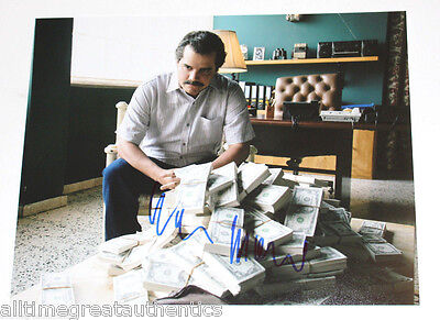 Wagner Moura Signed Narcos Tv Show 11X14 Photo Coa Proof Pablo Escobar Netflix