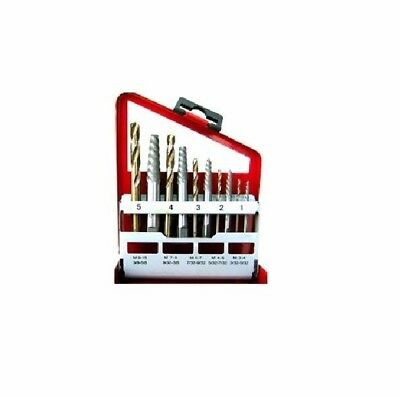 10pc Screw Extractor and Cobalt Bit Companion Set, Right Hand Drill Bits