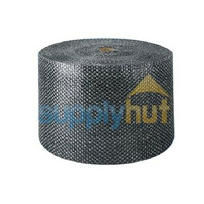 "3/16"" Small Bubble Cushioning Wrap Black Roll 2100' x 12"" Wide 2100FT Perf 12"""