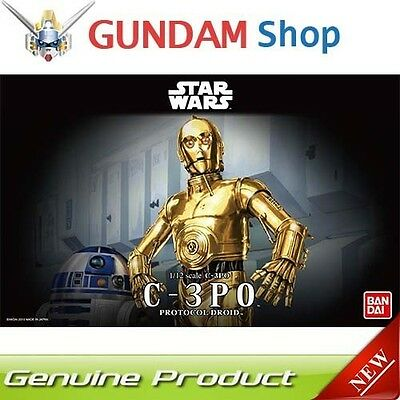 BANDAI Star Wars 1/12 C-3PO Protocol Droid No. 196418 JAPAN