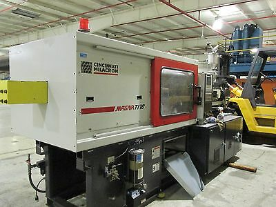 Cincinnati Milacron 170 Ton Injection Molding Machine, MT170, 10.3 Oz, 2005!