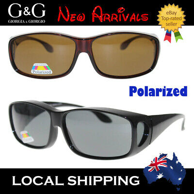 Men Polarized Fit Over Cancer Council Style Sunglasses
