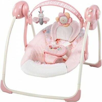 Ingenuity Soothe 'n Delight Portable Swing, Felecity Floral