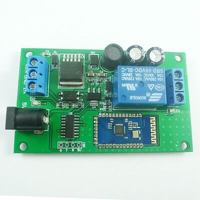 5V 12V-24V 2.4G Bluetooth Relay Module Android Mobile Remote Control Switch LED