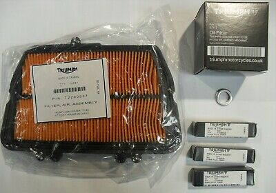 TRIUMPH TIGER 800 / 800 XC SERVICE KIT with Filters and GENUINE PARTS