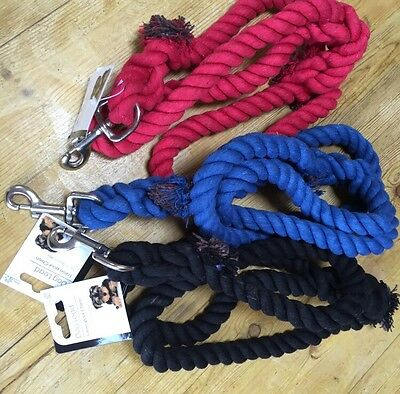 Rope lead Large Dog Giant Strong Heavy Duty 1.2m Long.