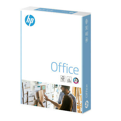 Hp Office A4 80Gsm Printer Plain White Copy Paper Buy The Box Or Ream - Multibuy
